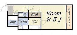 中野ビル2[2階]の間取り
