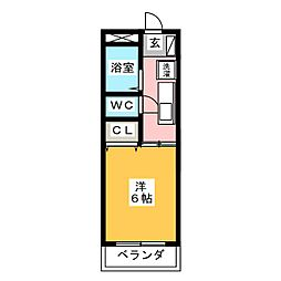 メゾン伏屋[2階]の間取り