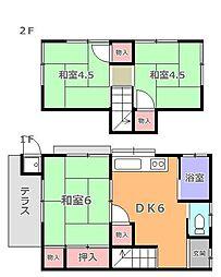 [一戸建] 東京都羽村市羽中4丁目 の賃貸【/】の間取り