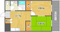 メゾンラフォーレ[3階]の間取り