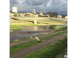 犀川(片町側)