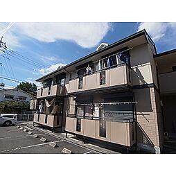 奈良県奈良市富雄元町1丁目の賃貸アパートの外観