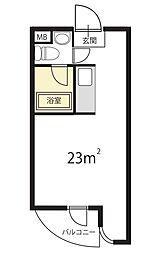 グレース成城I[B-305号室]の間取り