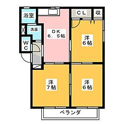 プリマヴェーラ A[1階]の間取り