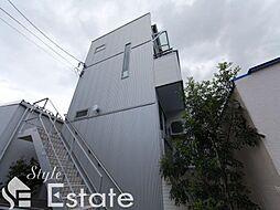 アパートメントU(アパートメントユー)[1階]の外観