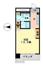 レジディア東桜II(旧エヌエスジール東桜 )[9階]の間取り