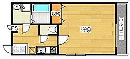 ヴァンベールハルナ[2階]の間取り