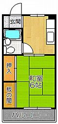 メゾン千里丘[2階]の間取り