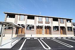 岡山県岡山市中区倉益丁目なしの賃貸アパートの外観