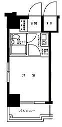 クリオ神奈川新町壱番館[8階]の間取り