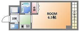 大国町青山ビル[5階]の間取り