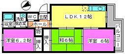 清永ビル[2階]の間取り