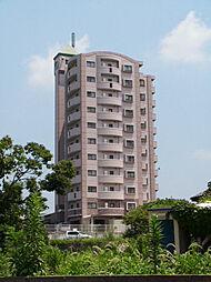 福岡県久留米市御井町の賃貸マンションの外観