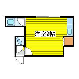 北海道札幌市東区北十九条東12丁目の賃貸アパートの間取り