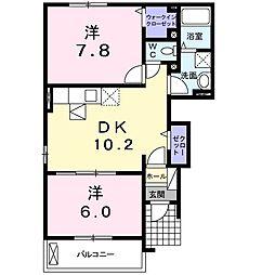 ノイハウスZ[1階]の間取り