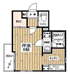 東京都中央区日本橋本町4丁目の賃貸マンションの間取り
