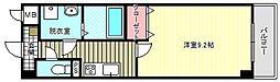 ブルーム東今川[2階]の間取り