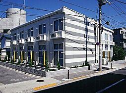 東京都足立区花畑4丁目の賃貸アパートの外観
