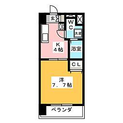 T's  Dream名駅[6階]の間取り