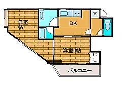 グランドシード2[3階]の間取り