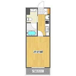 Flat[1階]の間取り