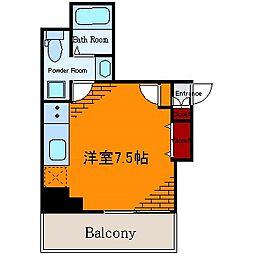 ヒューマンハイム亀戸II[3階]の間取り