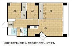 リデンテ南浦和[2階]の間取り