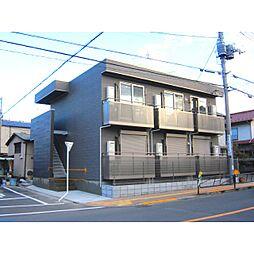 東京都八王子市日吉町の賃貸アパートの外観