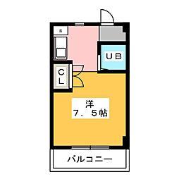セザール一宮[1階]の間取り