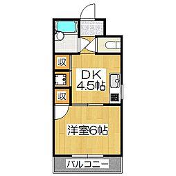 城戸ビル[2階]の間取り