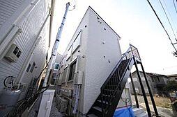 東京都多摩市諏訪1丁目の賃貸アパートの外観