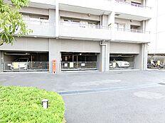 駐車場は背の高い車にも対応できます