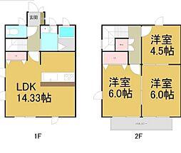 [テラスハウス] 愛知県名古屋市瑞穂区師長町 の賃貸【/】の間取り