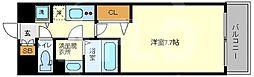 Luxe海老江II(ラグゼ海老江II) 10階1Kの間取り
