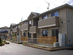 埼玉県深谷市武川の賃貸アパートの外観