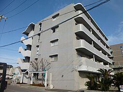 兵庫県姫路市飾磨区中島の賃貸マンションの外観