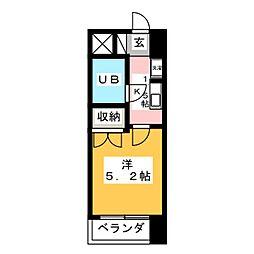 ラ・レジダンス・ド・仙台[10階]の間取り