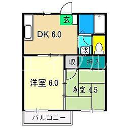 ハイツ京島2[1階]の間取り