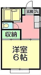 メゾン大船[2階]の間取り