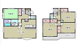 [一戸建] 神奈川県藤沢市石川4丁目 の賃貸【/】の間取り