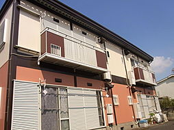 埼玉県入間市野田の賃貸アパートの外観