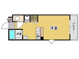 ハーモニーハウス別府[1階]の間取り