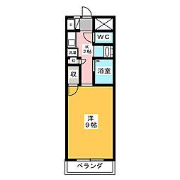 ロフティー奈良屋[2階]の間取り