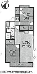 ロワール21[A103号室]の間取り