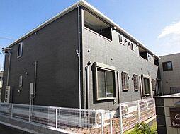 愛知県名古屋市北区中味鋺1丁目の賃貸アパートの外観