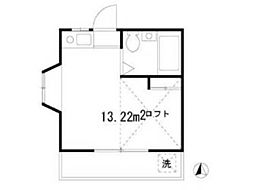 メゾンドロワール[2階]の間取り