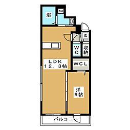 北海道札幌市東区北十九条東1丁目の賃貸マンションの間取り