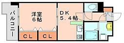 プラシードカーサ[1階]の間取り