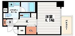 エスライズ御堂筋本町[7階]の間取り