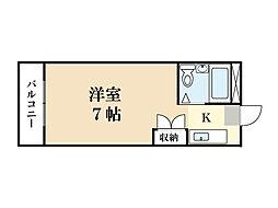TO BE LIVING SAWADA[2階]の間取り